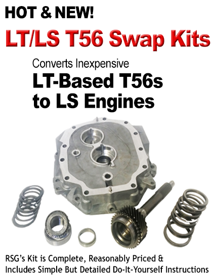 Hot and New LT/LS T56 Swap Kits
