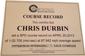 Chris Durbin award