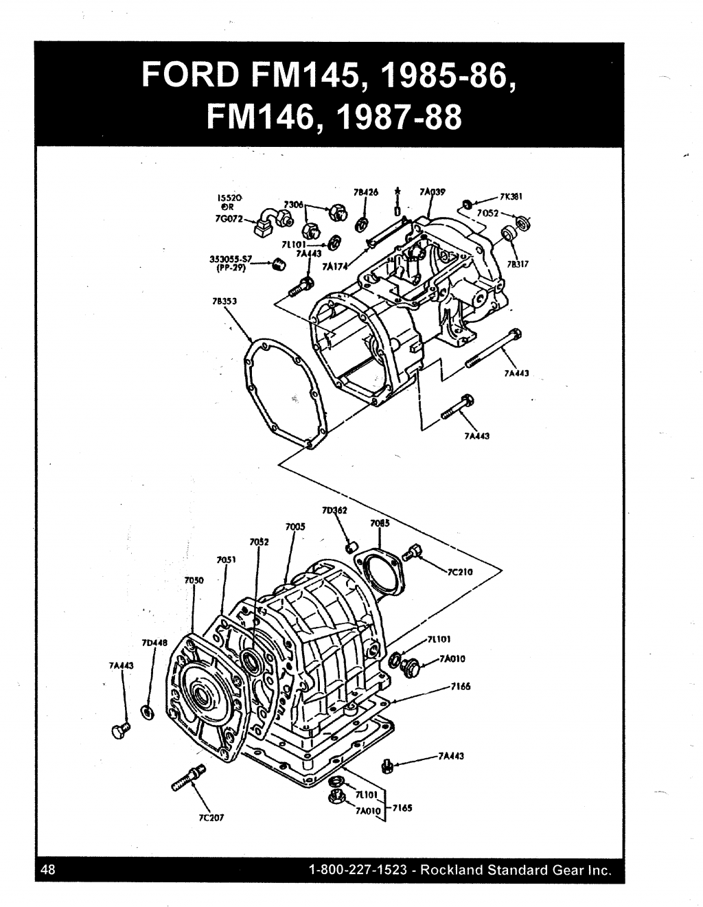 Mitsubishi Transmission Diagrams : Ford mitsubishi fm case rsgear